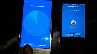 How to transfer file android to iphone  | Share data ios to apk | how to use share it on iphone