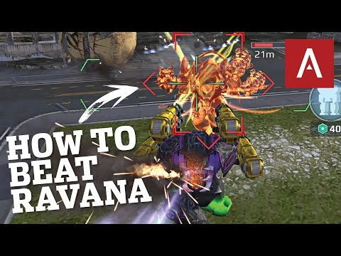 War Robots - You Need These Weapons To Beat Ravana! WR Max Gameplay