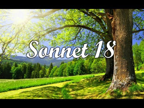 analysis of sonnet 18 Sonnet 18 sonnet 18 is among the most famous of shakespeare's works and is believed by many to.