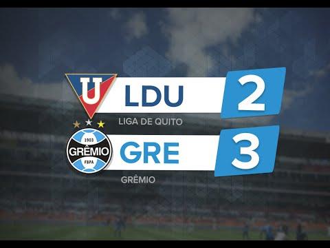 Os gols de LDU 2 x 3 GRÊMIO - Libertadores 2016
