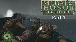 Medal of Honor Frontline HD PS3 Full Walkthrough Part 1
