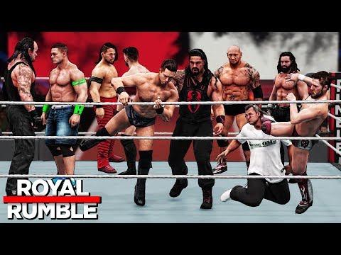 WWE 2K18 Royal Rumble 2018 - Roman Reigns...