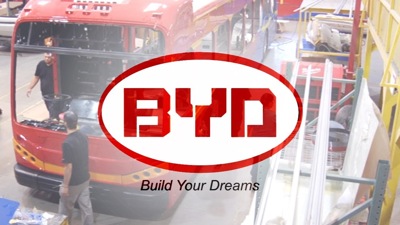 History of BYD in City of Lancaster, California, USA
