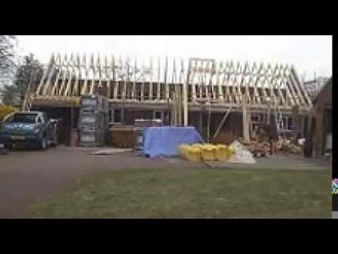 Roof Lift Loft Conversion Timelapse Youtube