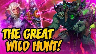 The Great Wild Hunt! | Rise Of Shadows | Hearthstone