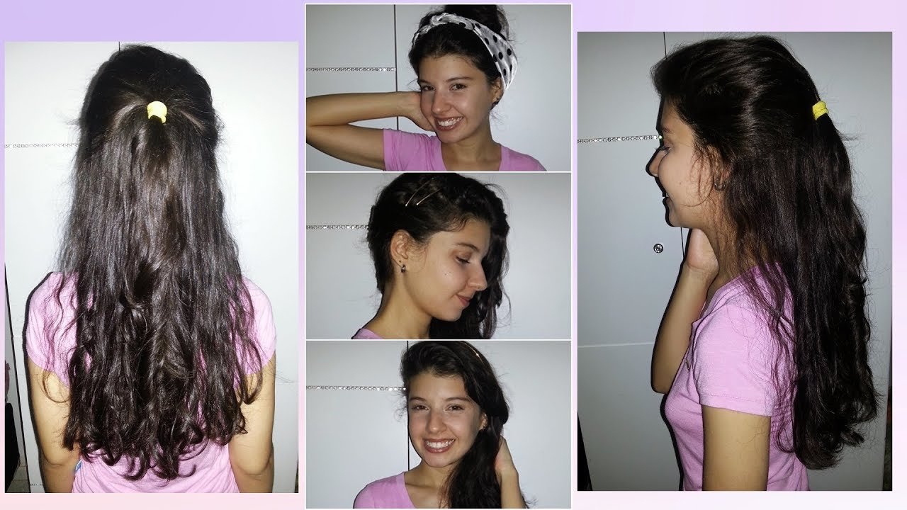 03 Penteados Fáceis Para O Dia A Dia Cabelo Ondulado Natália Biazzi