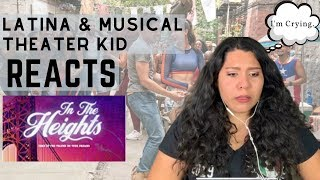 Download Latina Actress & Musical Theatre Kid REACTS to New IN THE HEIGHTS TRAILER Mp3 and Videos