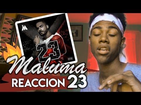 MALUMA 23 (vídeo reacción)