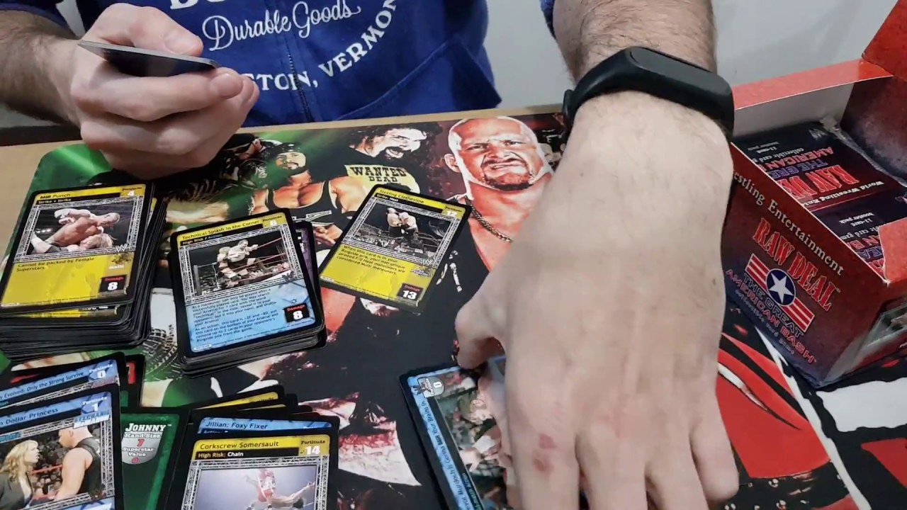 WWE Raw Deal TCG Unboxing - Great American Bash