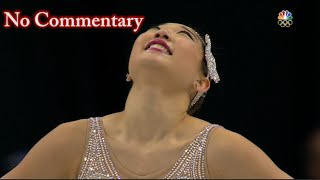 2016 U.S. Nationals - Mirai Nagasu FS NBC (no commentary)