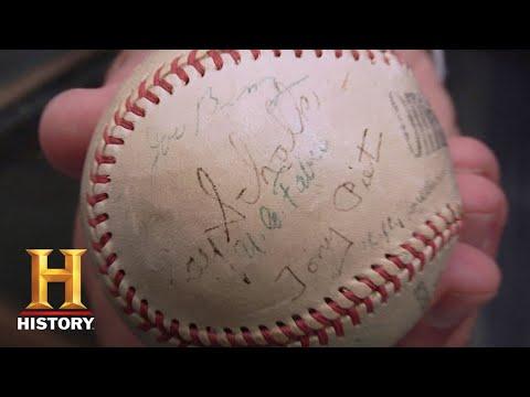 Pawn Stars: Signed 'Black Sox' Baseball (Season 6)   History