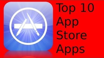 Top 10 iOS AppStore Apps [Deutsch/German]