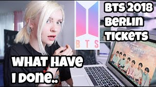 I spent 2000€ on BTS Tickets.. | BTS Love Yourself World Tour 2018 (ENG SUB)