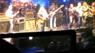 "Allman Brothers w/ Jukes Horns - ""Soulshine"" Beacon Theatre, 3/22/11"