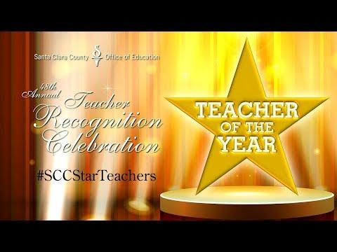 2017 Santa Clara County Teacher Recognition Celebration