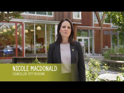 Councillor MacDonald is Pitt Meadows Proud™