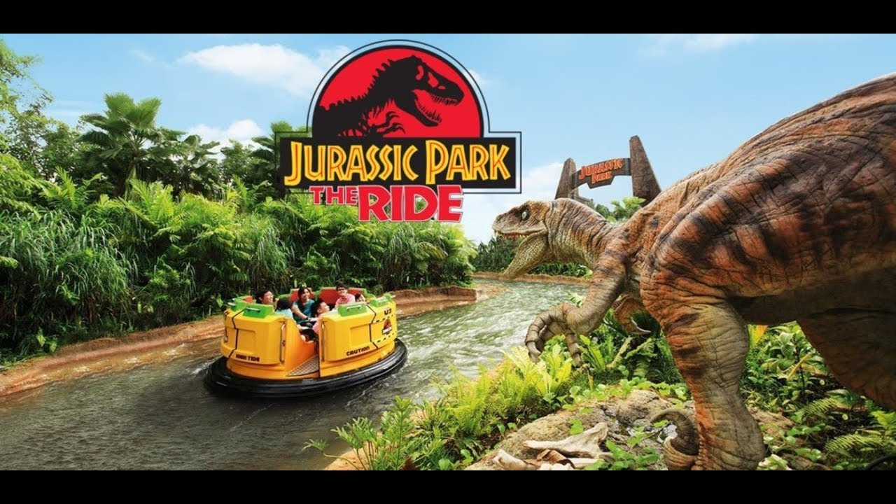 Jurassic Park Rapid Adventure Boat Ride at Universal ...