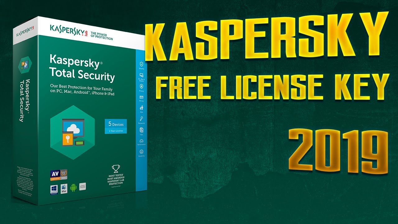 Kaspersky TS 2019 LEGAL ACTIVATION 100% WORKING - APRIL 2019