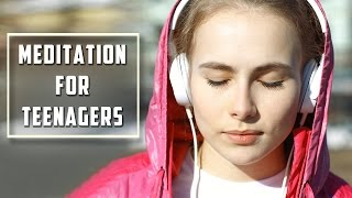 Meditation For Teenagers With Sunset - Relaxing Meditation - Calming Music
