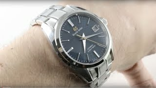 Grand Seiko Hi-Beat 20th Anniversary Limited Edition SBGH267 Luxury Watch Review