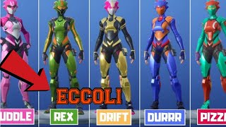 where to find the helmets of the singularity skin - fortnite guide