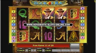 Book of Ra - 4000 Big WIN! 20 free games