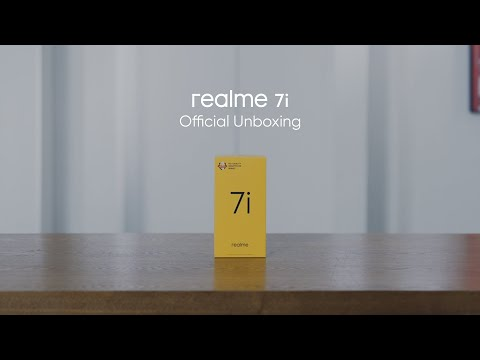 realme 7i | Official Unboxing