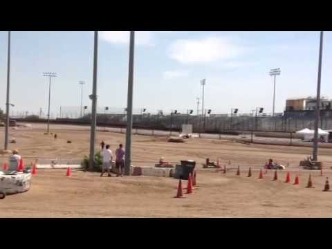 KT 100 Main at Perris Auto Speedway 6-1-13