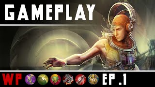 Vainglory Vox Gameplay - Ep 1 - Weapon Power Build | Lane