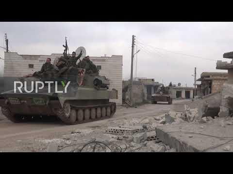 Syria: SAA advances in Idlib countryside towards Maarat al-Numan