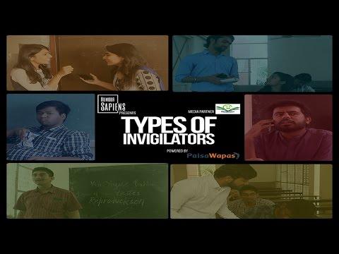TYPES OF INVIGILATORS || EXAMS SEASON || HUMOUR-SAPIENS