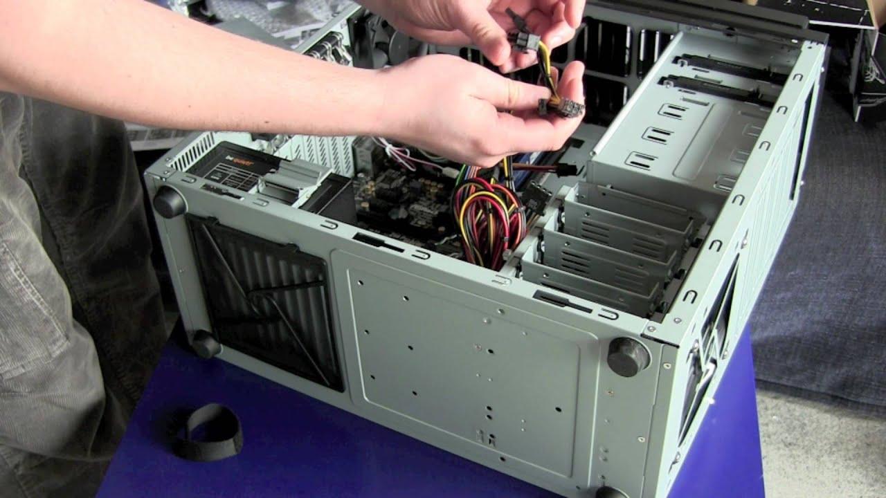 Computer Gehäuse und Motherboard Verkabelung - FaultierGaming Neuer ...