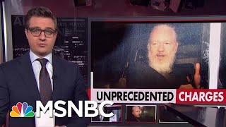 Unprecedented Charges Against Assange | All In | MSNBC