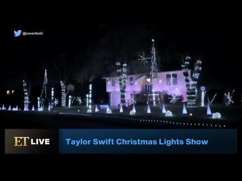 Kristin - This Dude's Amazing T Swift Xmas Lights Display!