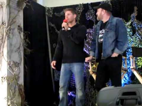 BurCon 2012 - Jim Beaver Q&A (Oh look, there's Jensen!)
