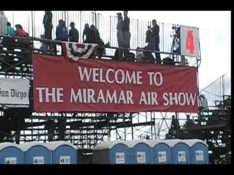Laura Odegard visits the 2012 MCAS Miramar Airshow on The Talk of San Diego Show