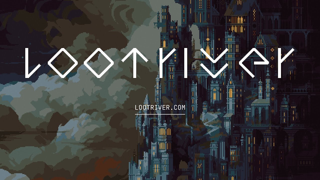 """Dark Souls meets Tetris"" - Loot River"