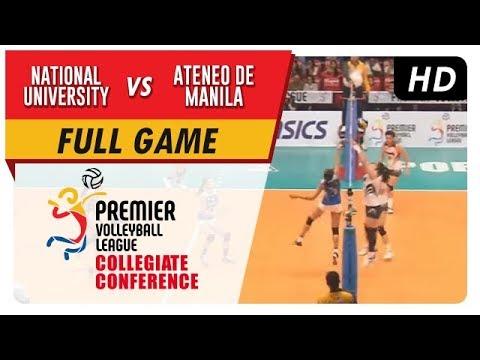 NU vs. ADMU   PVL Season 2 Collegiate Conference   Full Game   4th Set   Sept. 30, 2017