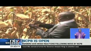 NCPB opens stores for farmers to dry and store their produce