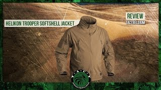 REVIEW- Helikon Trooper Softshell Jacket