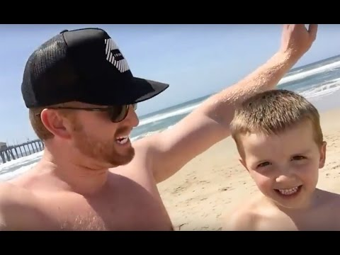 Huntington Beach -  Doppio Zero Pizzeria - Ginger Babes On The Beach - World Record Surf Board