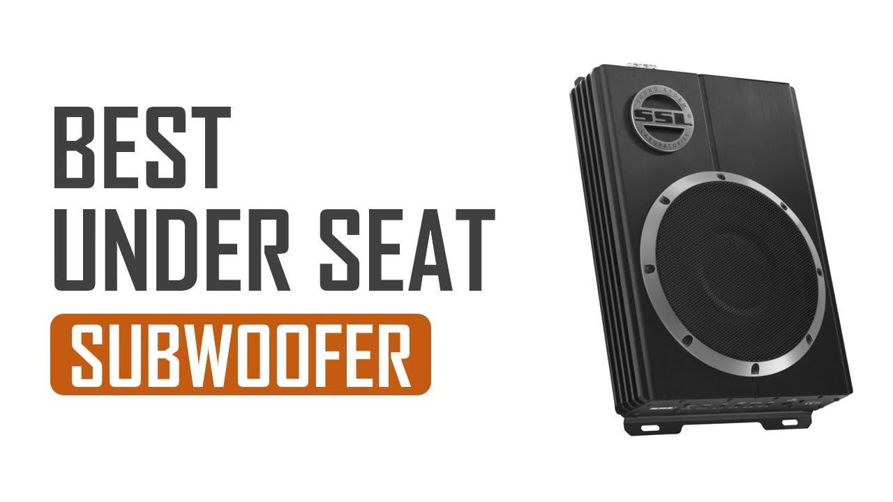 Download Best Under Seat Subwoofer