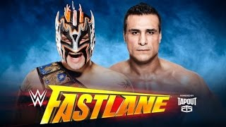 ST 221 (4) WWE Fastlane 2016 Kalisto vs Alberto Del Rio Match Predictions