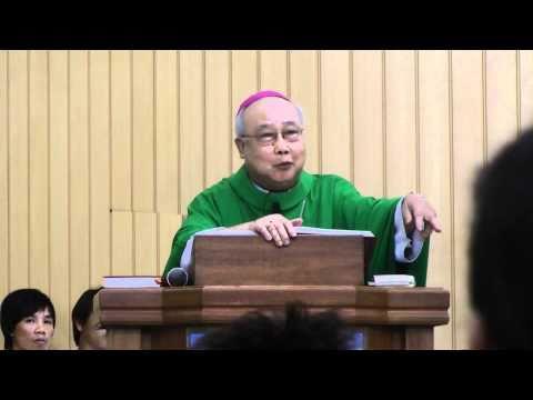 Đức Cha Nguyễn Văn Sang Giảng Lễ Tại Nhà THờ TaoYuan TaiWan
