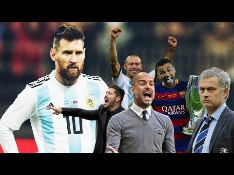 ANALIZANDO A MESSI   Guardiola, Simeone, Dani Alves, Mourinho, Xavi, Del Bosque