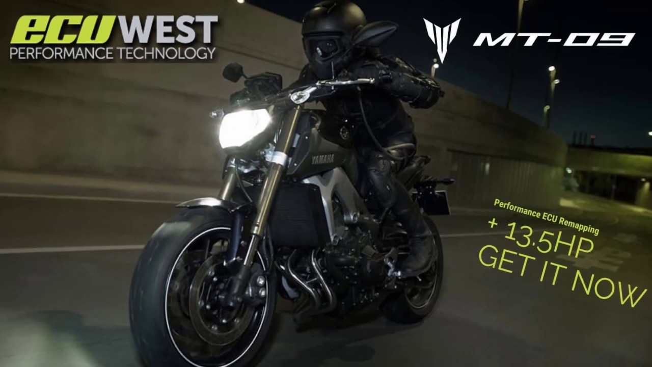 YAMAHA MT-09 ECU REMAPPING & DYNO TUNING - ECUWEST