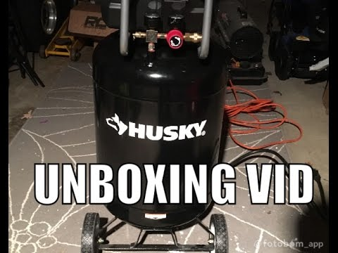 home-depot-husky-20-gallon-air-compressor-unboxing-and-start-up-model-f2s20vwd
