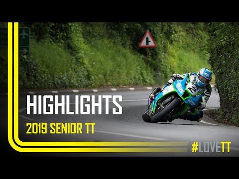 2019 Dunlop Senior TT - Race Highlights | TT Races Official