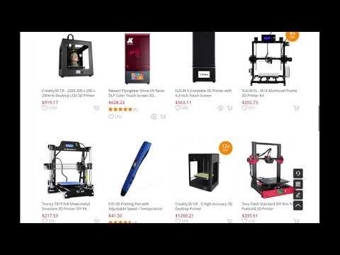 Tronxy T819 Full Sheet-metal Structure 3D Printer DIY Kit - Black US 2198