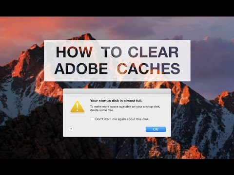 How do i clear my macbook pro cache